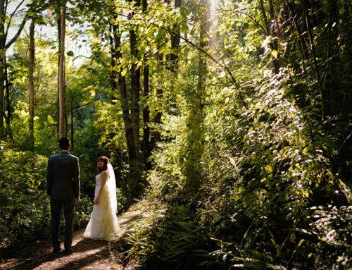 Kristen + CJ – Romantic Moke Lake Elopement Wedding Photography and Video