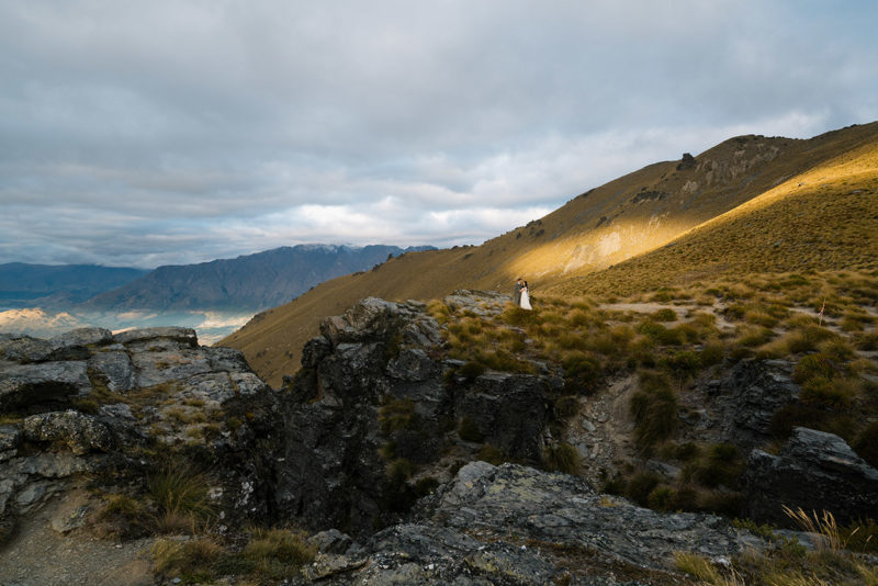 Queenstown elopement heli wedding planner