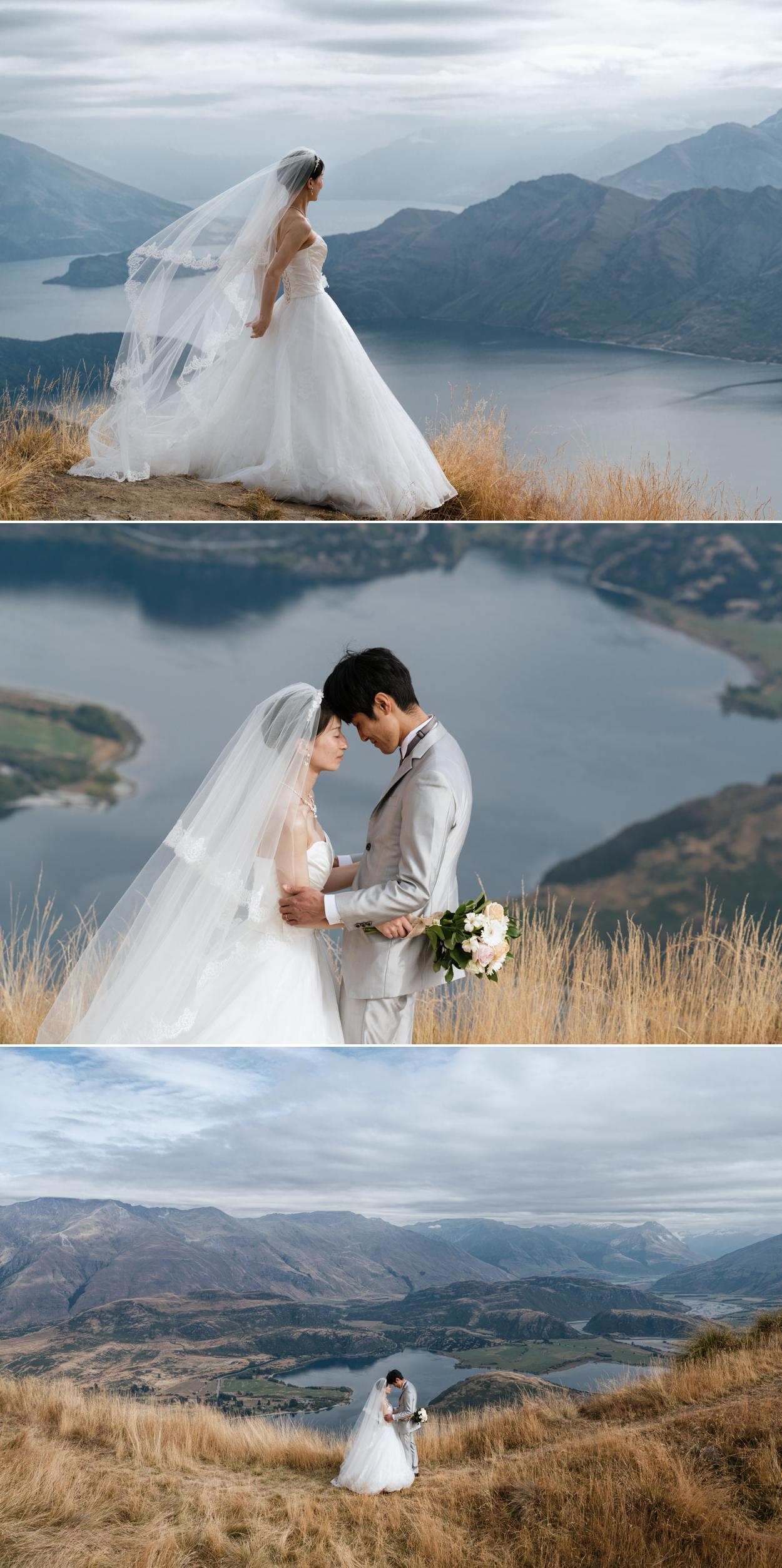wanaka mount roy wedding