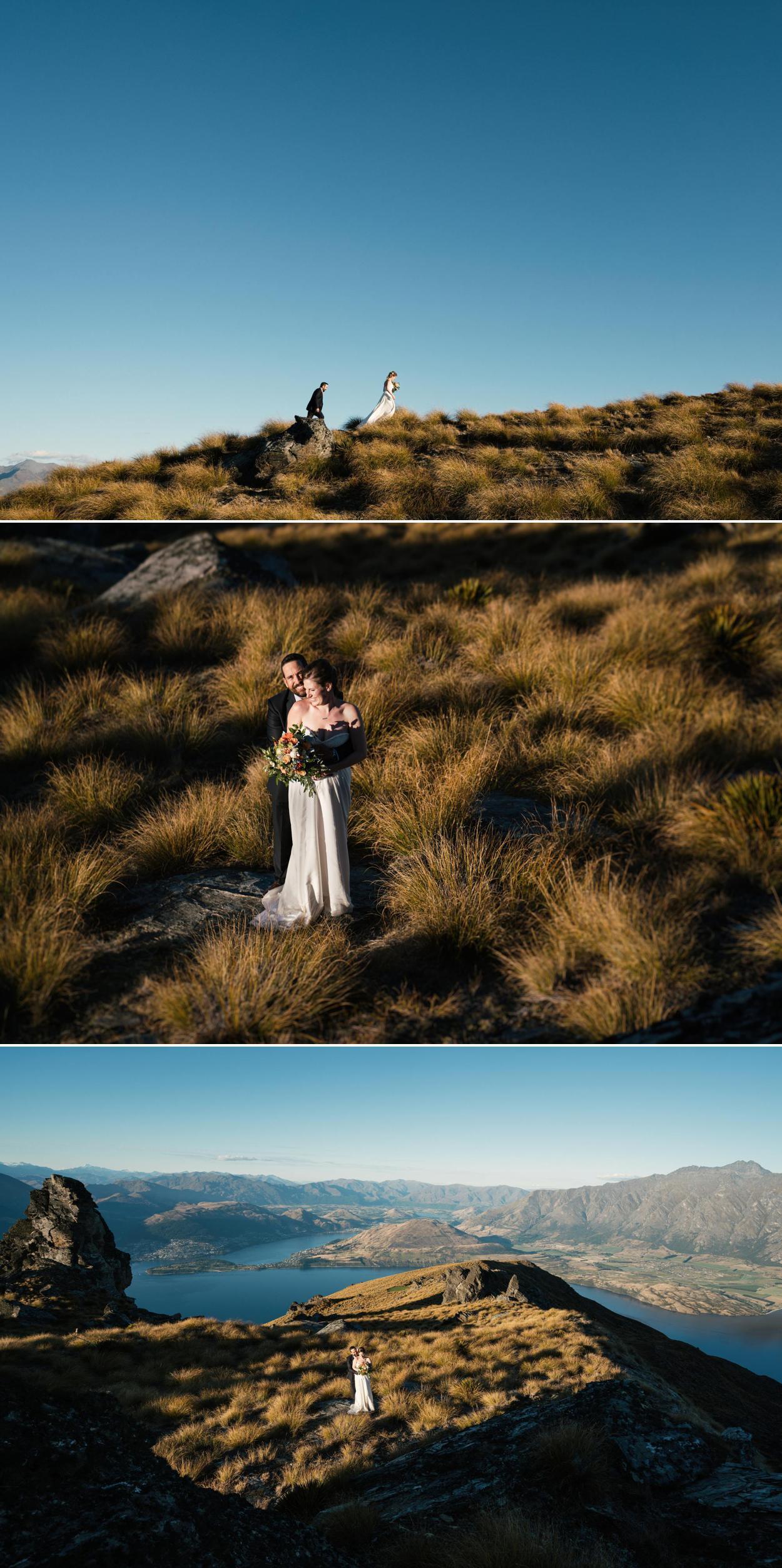Garden Spur Cecil Peak wedding