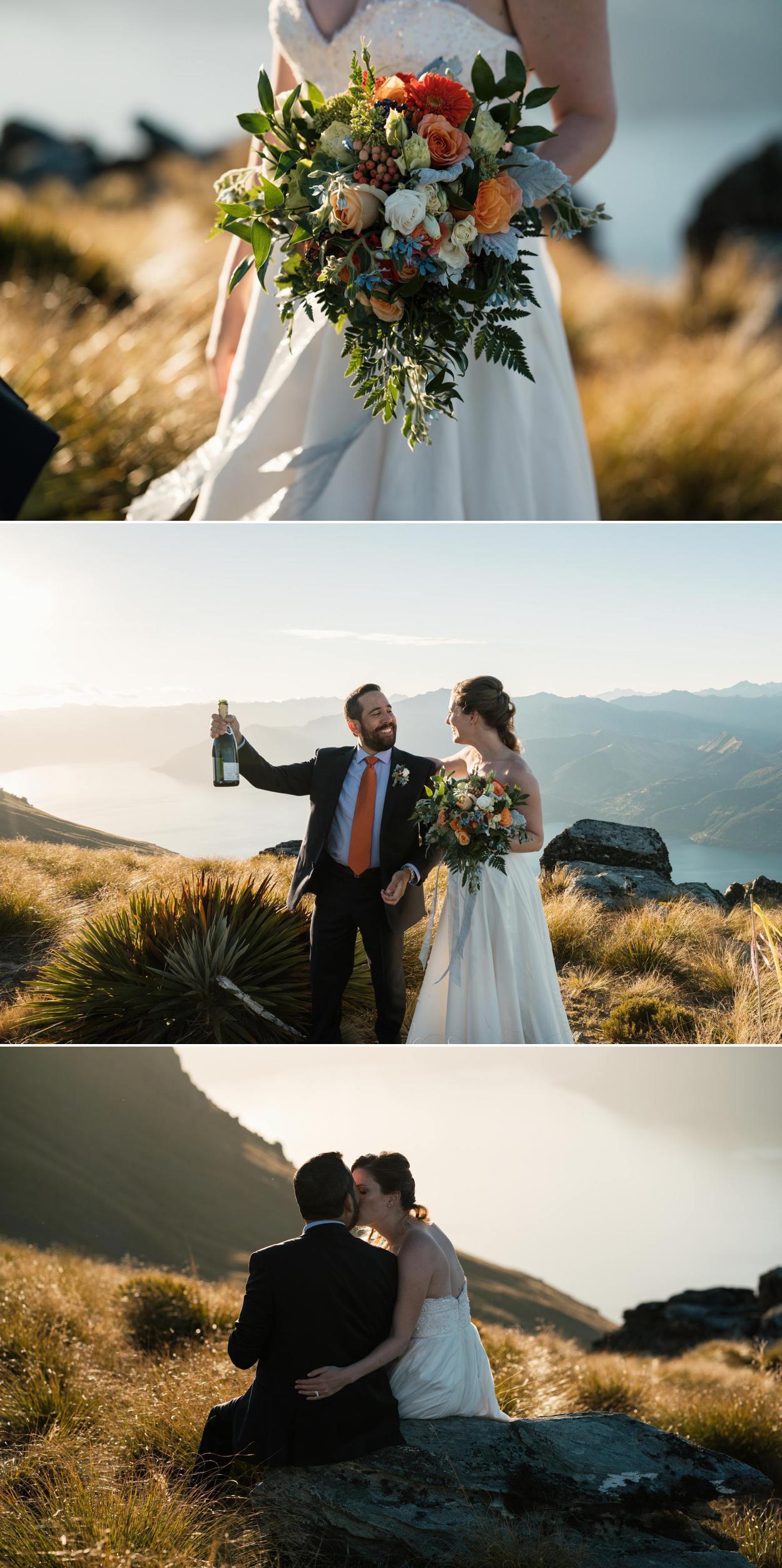 heli wedding planner queenstown