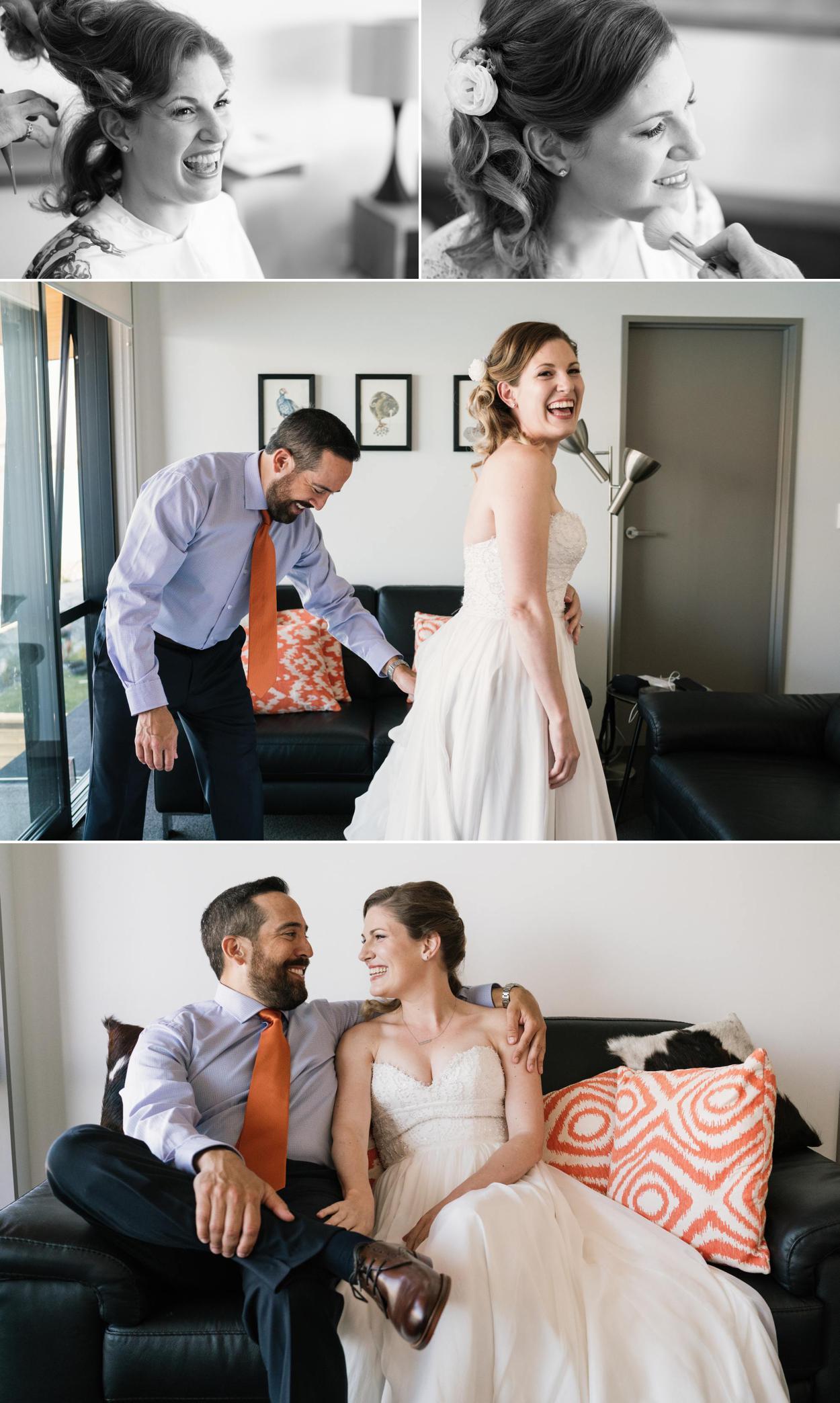 Queenstown bride wedding video