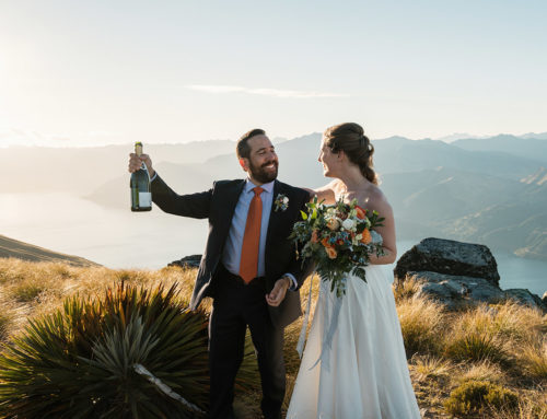 Tori + Kevin / A Queenstown Safari / Cecil Peak Elopement