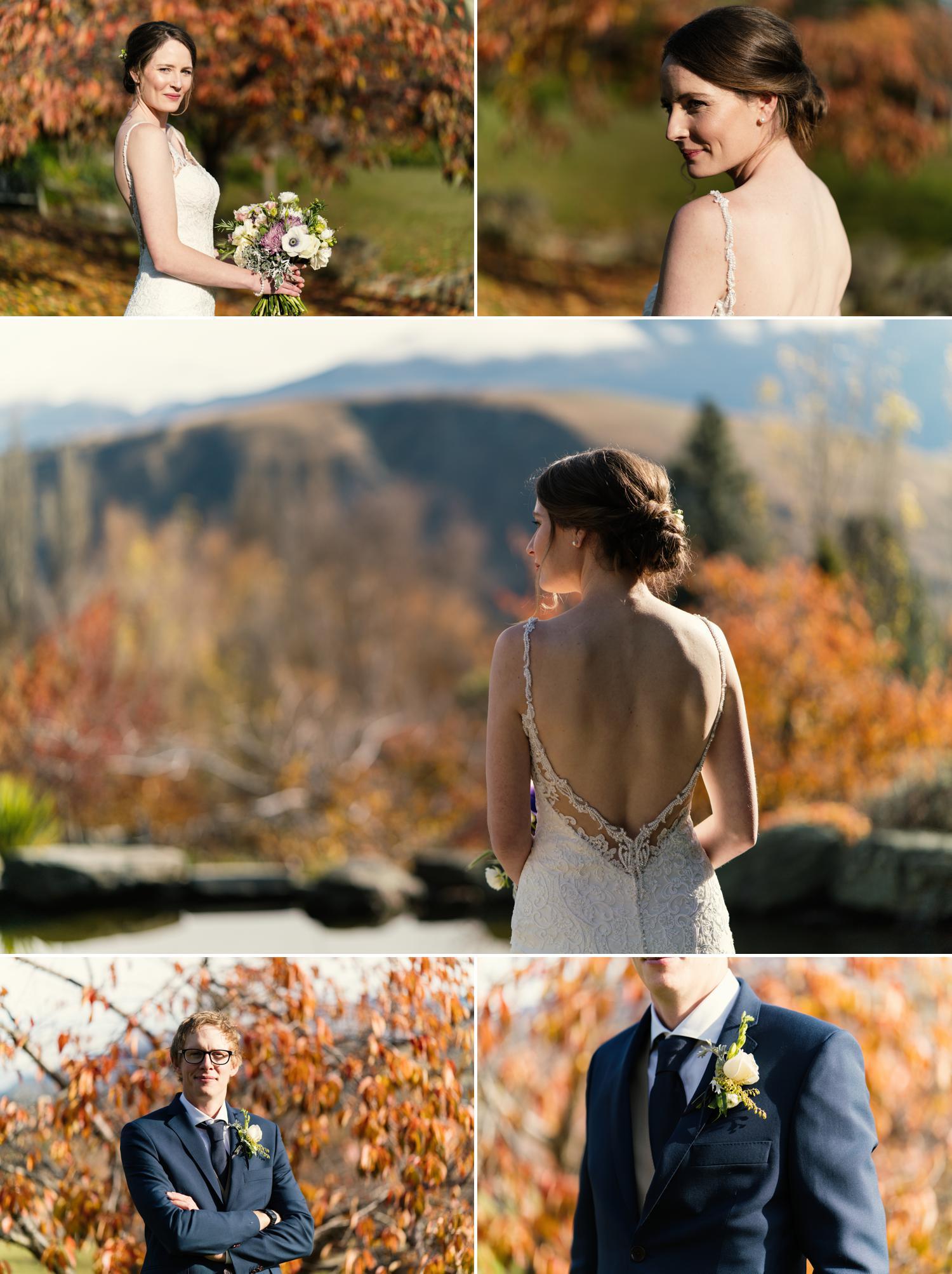 Queenstown Autumn wedding