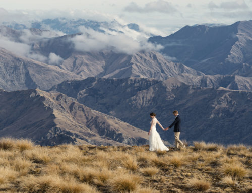 Sarah + George / Chapel by the Lake / Southern Alps Wedding