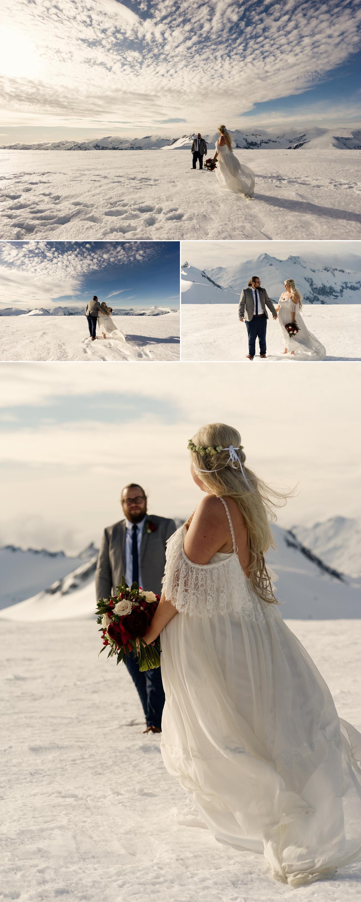 Isobel Glacier elopement wedding