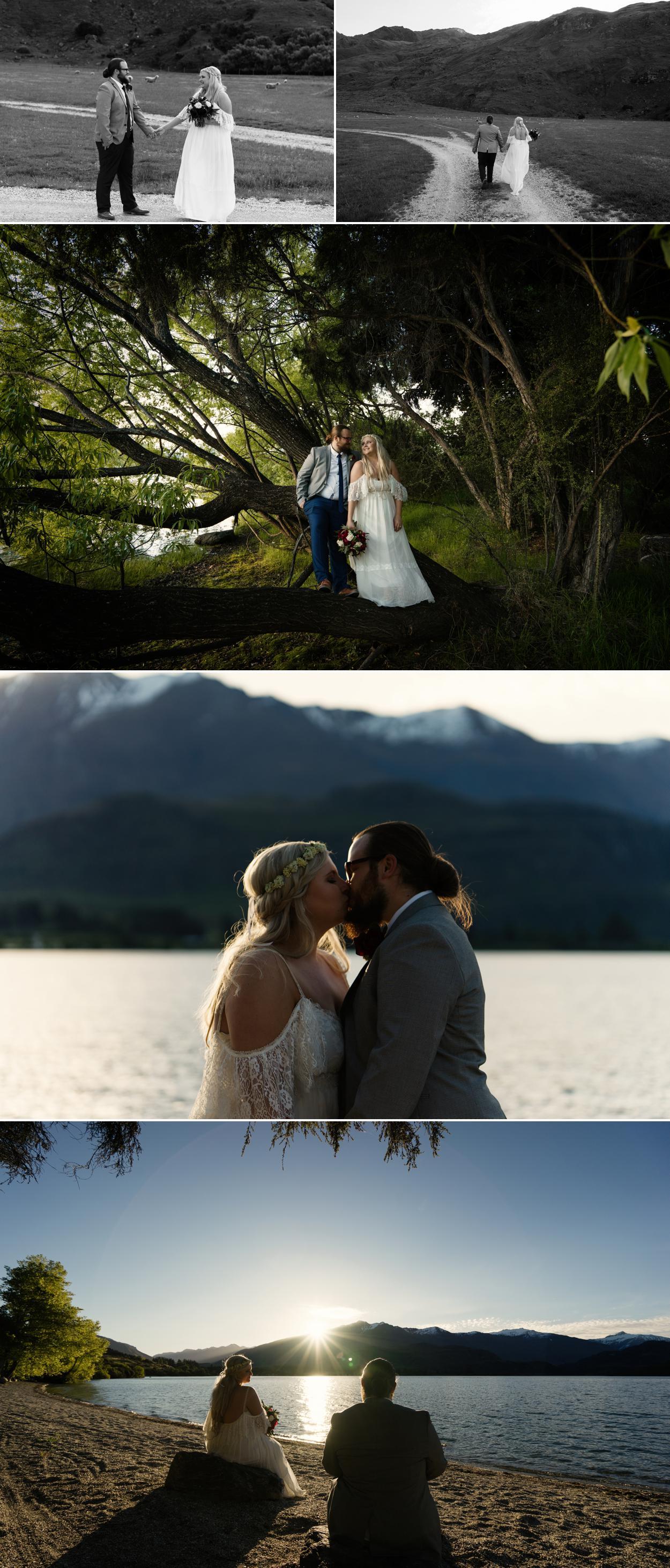 Lake Wanaka wedding