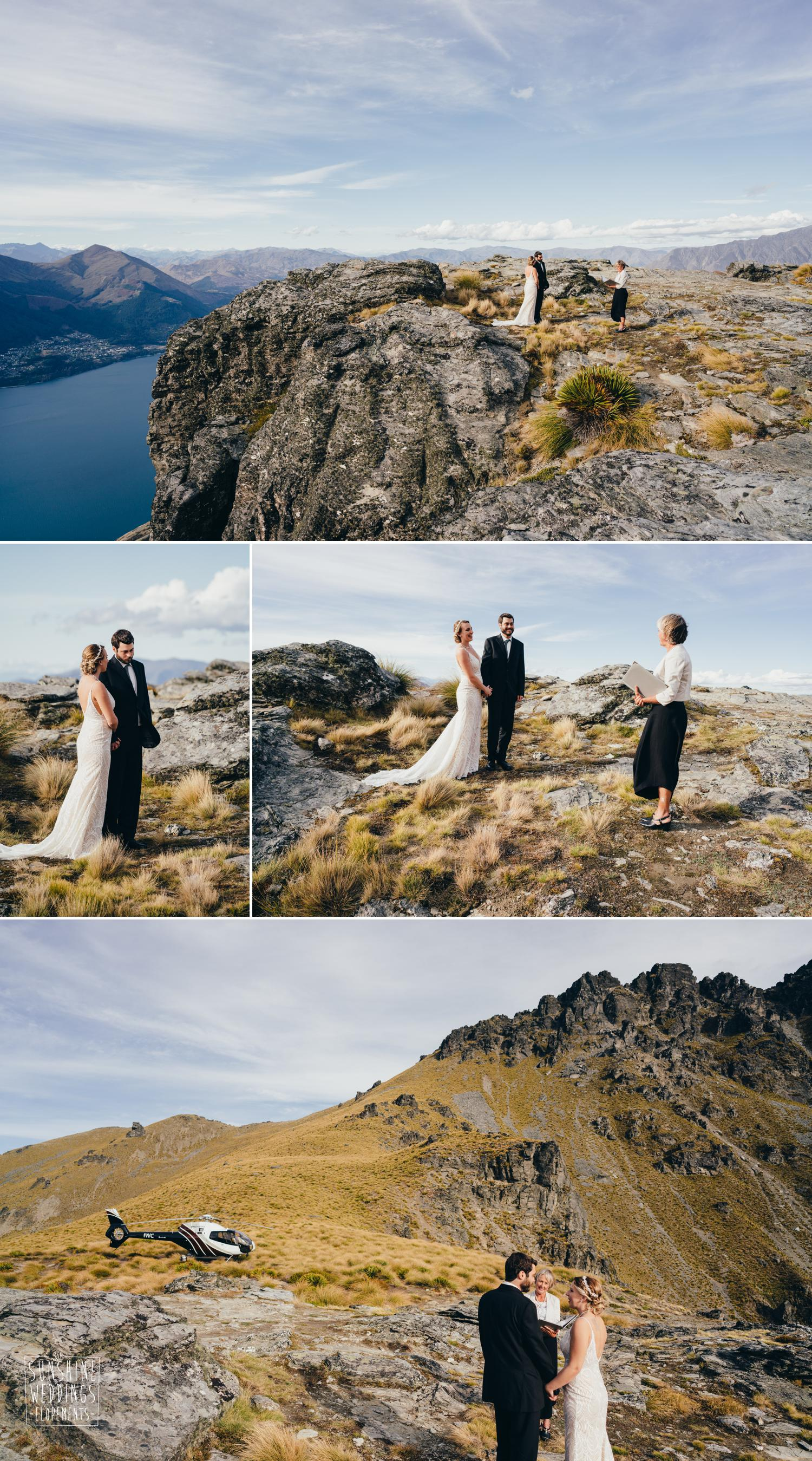 Cecil Peak wedding photography