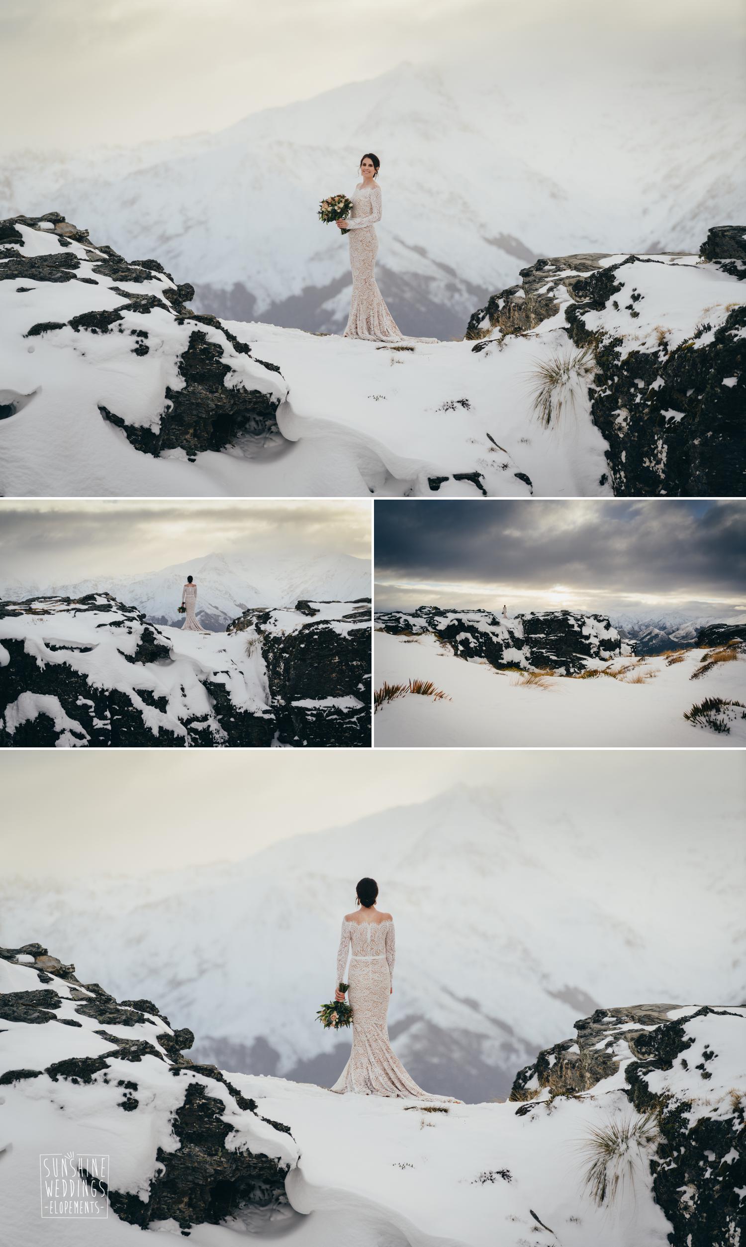 mountainside bride new zealand