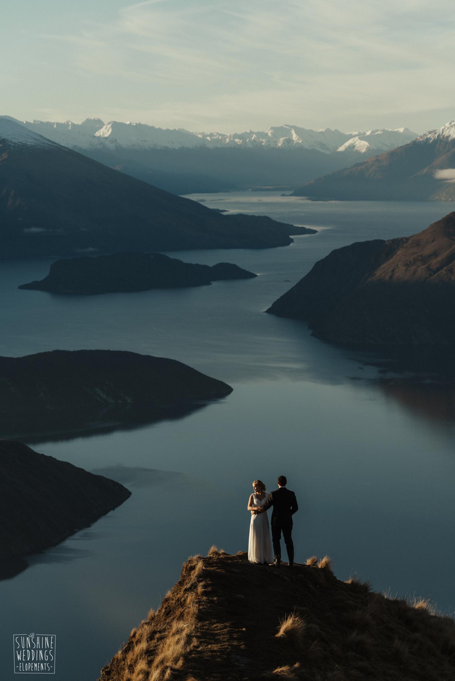 Lake Wanaka wedding photographer
