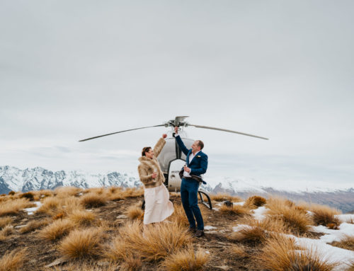 Victoria + Brett / Cecil Peak Winter Wedding
