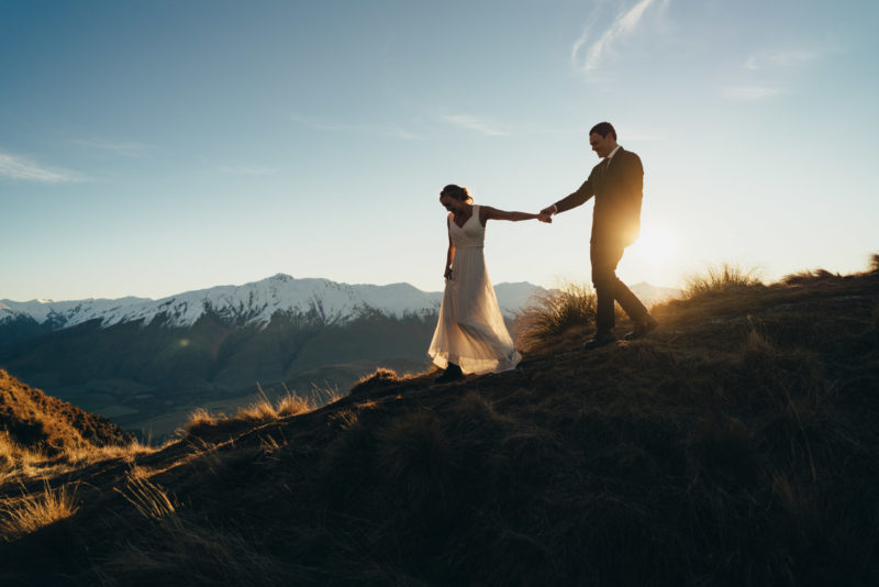 Coromandel Peak wedding