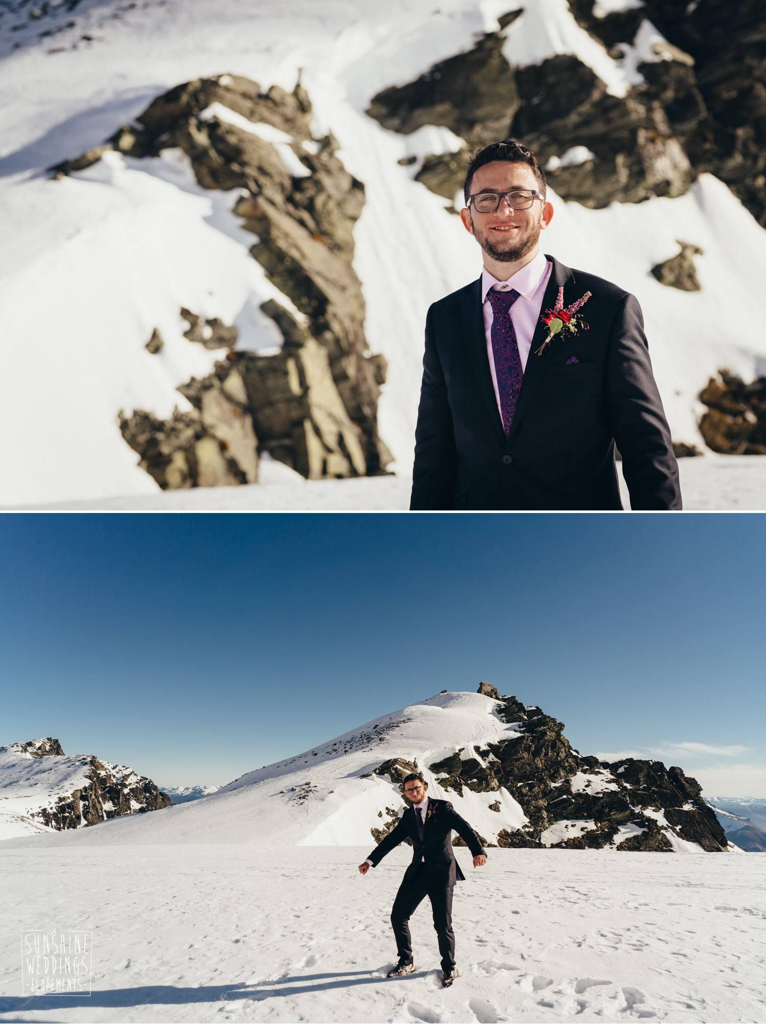 Winter wedding Queestown