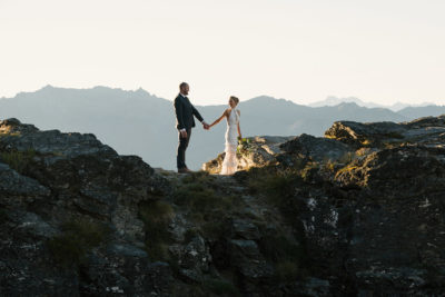 Queenstown mountain elopement wedding