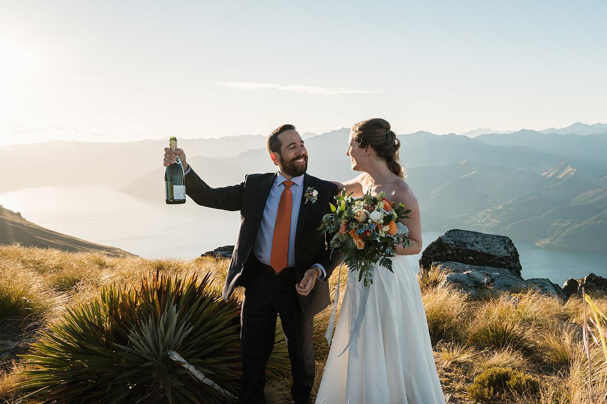 cecil peak elopement wedding planner