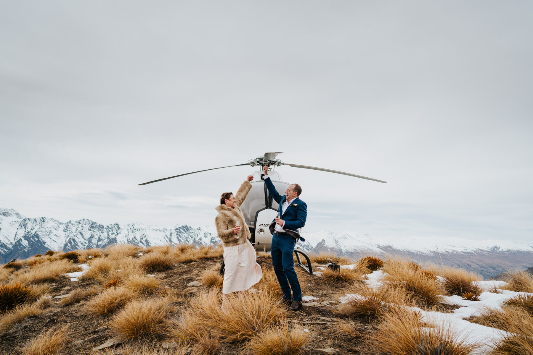 heli wedding planner Queenstown
